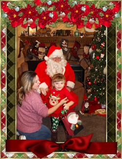 Santa & The Burke Family pt 1