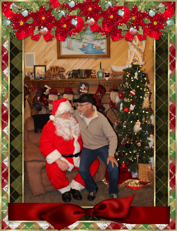 Santa & The Burke Family pt 7