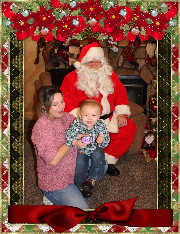 Santa & The Burke Family pt 3