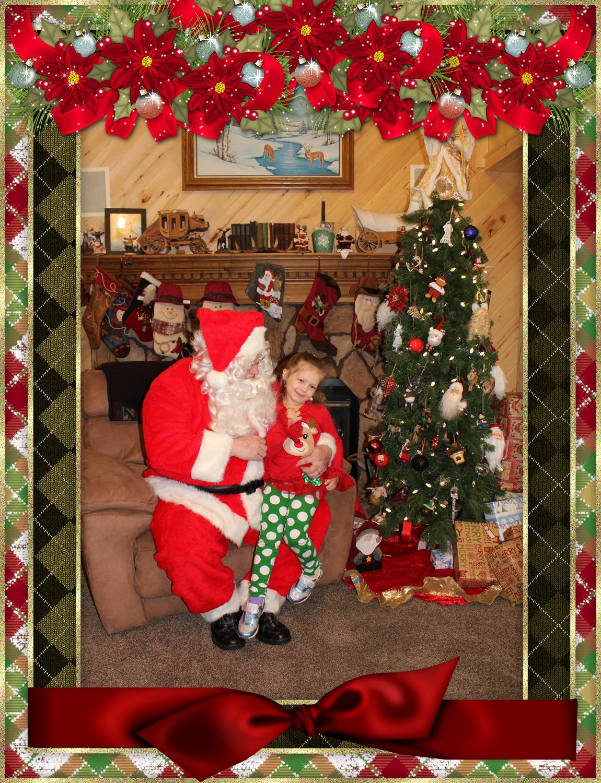 Santa & The Burke Family pt 6