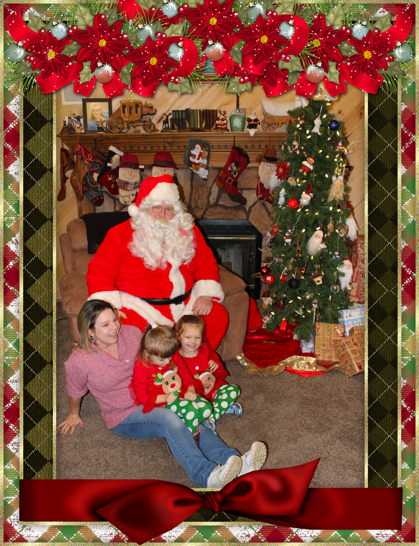 Santa & The Burke Family pt 5