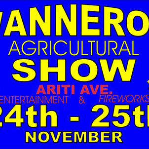 Wanneroo Ag Show this weekend!