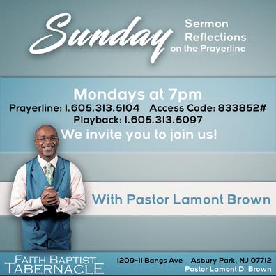 Sunday Sermon Reflections
