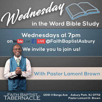 Join us for Wednesday of the Word Bible Study