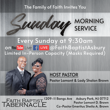 Join us for Sunday Morning Service