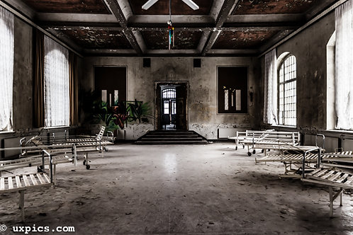 Heilstätten Scary Entrance