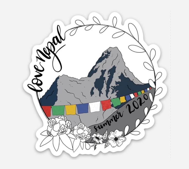 Mission Trip Sticker and T-Shirt Design