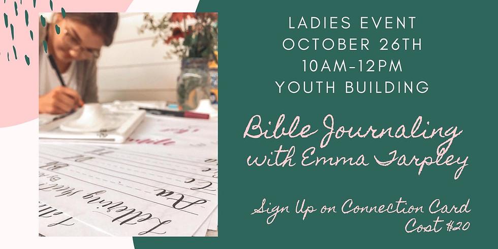 Grace Bible journaling Workshop