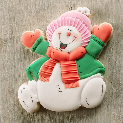 Jolly Snowman Cutter