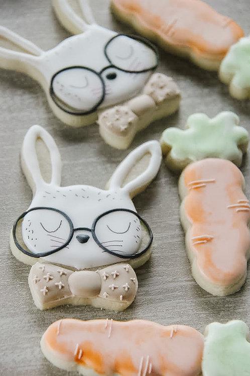 Bunny + 3 Carrot Set