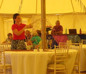 Lantern-making at the Craft Market