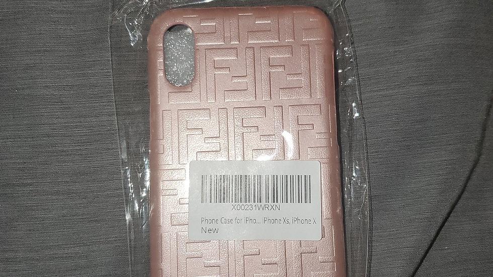 iPhone X/XS Rose gold  case. FF brand