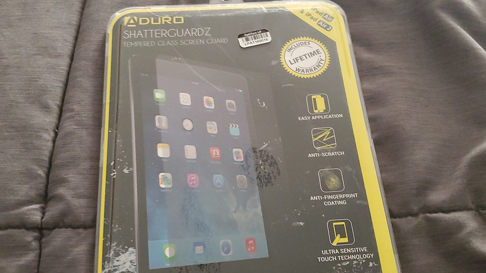 iPad Air and iPad Air 2 screen protector