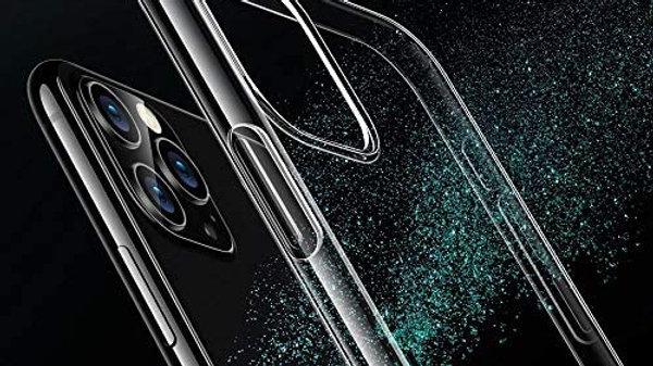 Designed for iPhone 11 Pro Max Case, Slim Clear Soft TPU, Flexible Silicone Cove