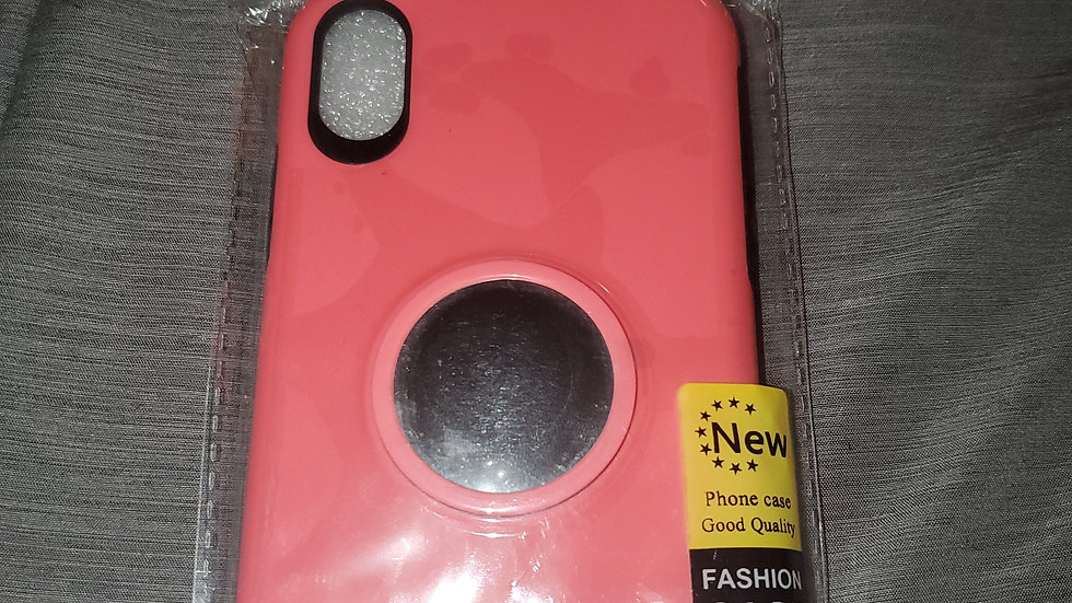 iPhone XR Misscase slim shockproof 2in1 case