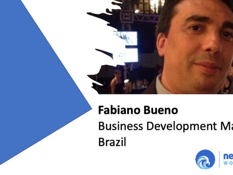 Fabiano Bueno joins as Business Development Manager Brazil