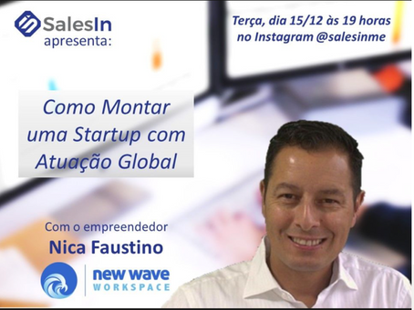Global Startup Story live interview with Salesinme
