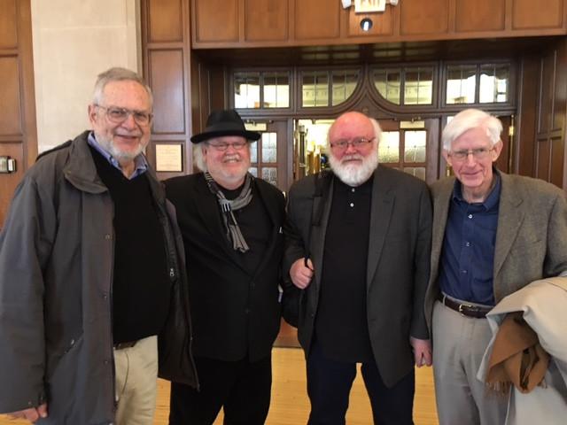 Thomas Lynch, John Knott, Keith Taylor, George Bornstein