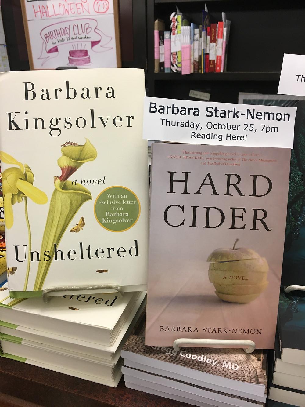 Hard Cider and Barbara Kingsolver's Unsheltered