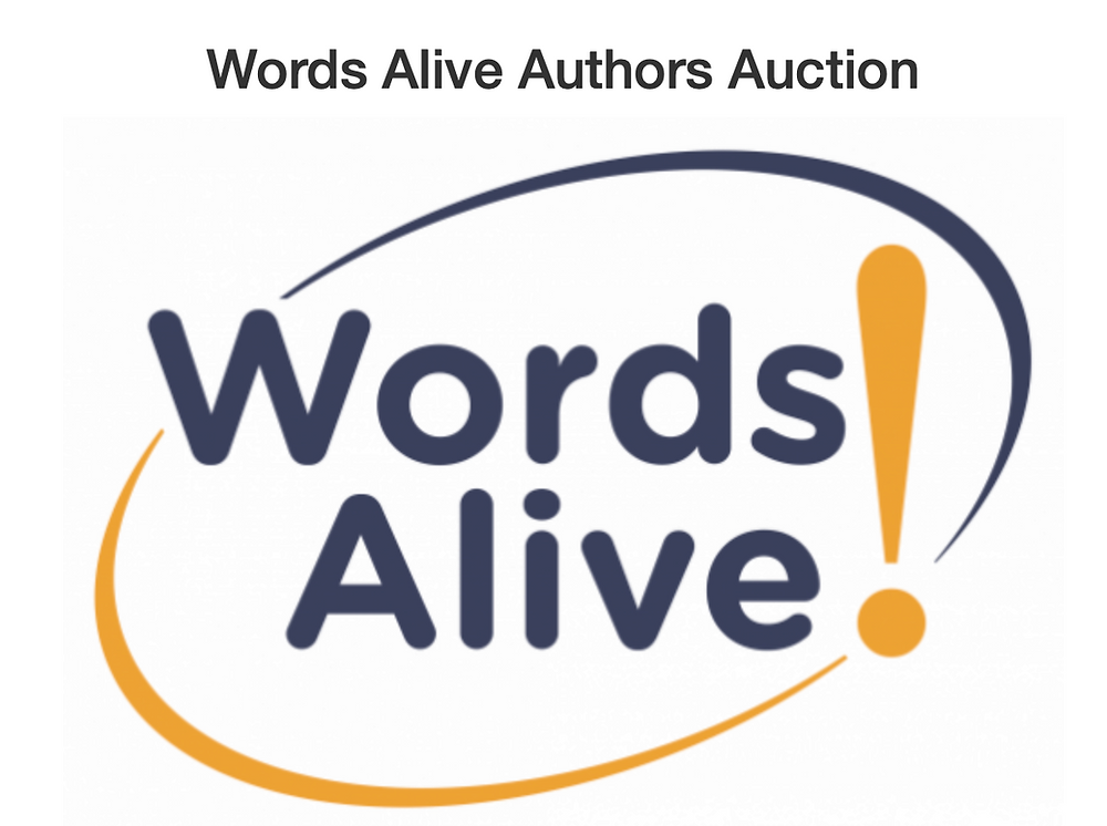 Words Alive Author Auction