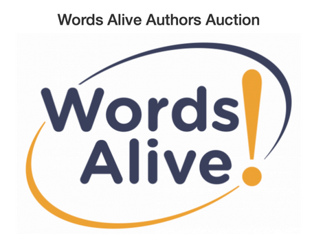 Words Alive Author Auction