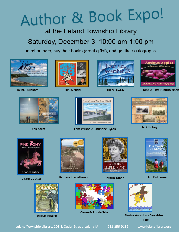 Authors and Books in Leland!