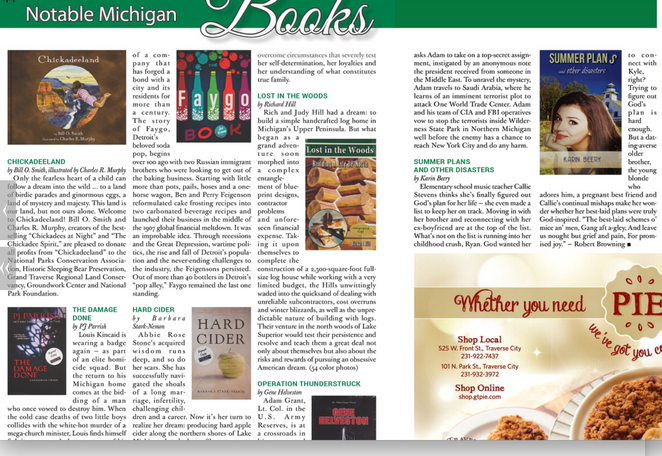 Hard Cider named Notable Michigan Book