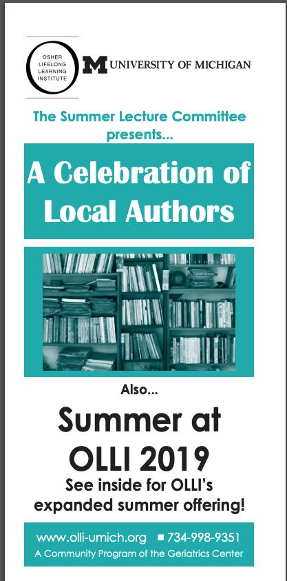 OLLI Local Authors series