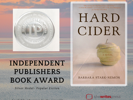 Hard Cider wins IPPY Book Award!