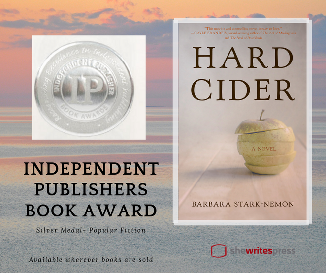 Hard Cider wins IPPY Book Award!