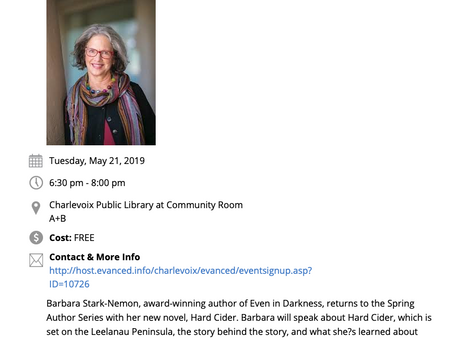 Charlevoix Public Library- May 21