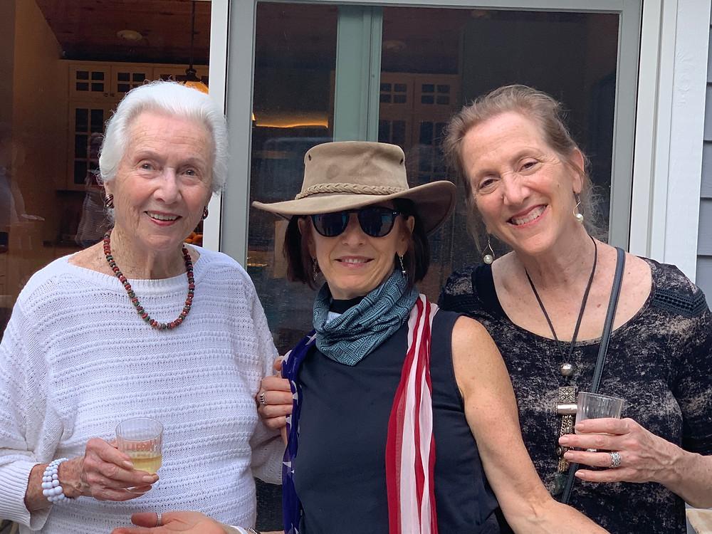 Julie, Margaret and Joanna