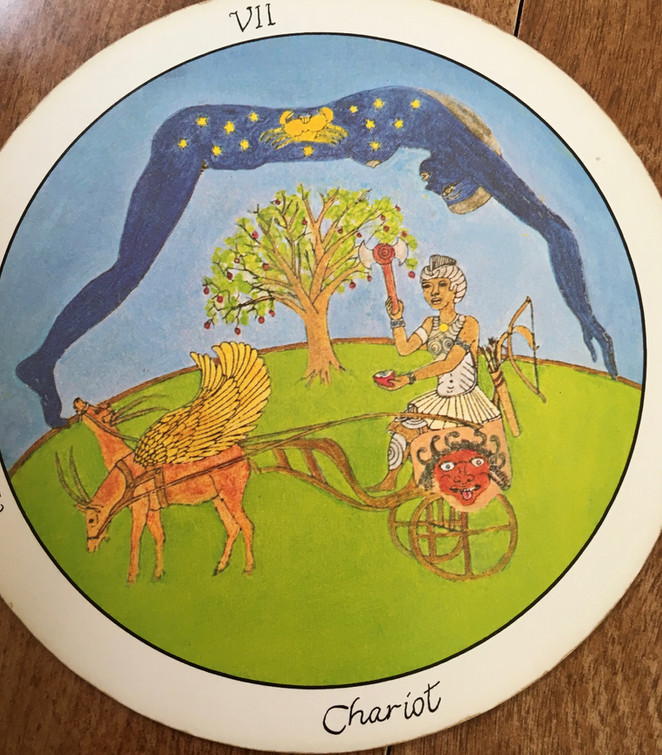 Tarot Reading as Book Research