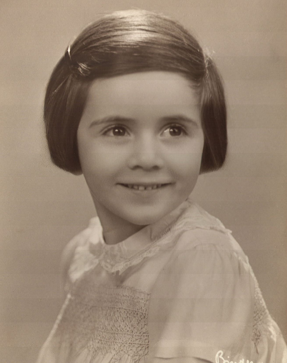 Margaret at age 4 in Germany 1929