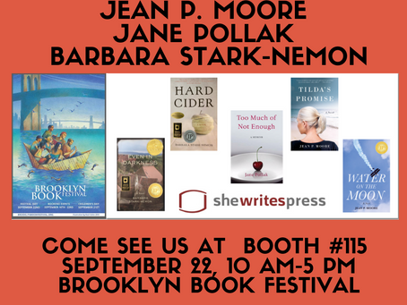 Join many SWP authors at Brooklyn Bookfest!