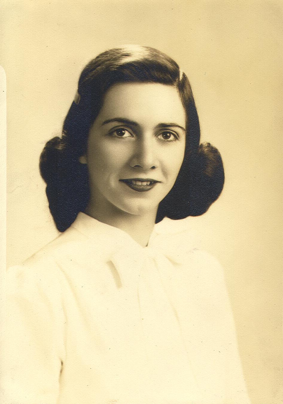 Margaret at age 19