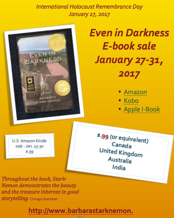 E-book sale!