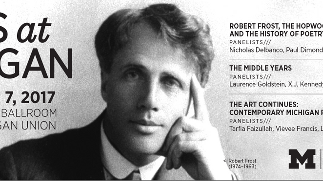 Poets at Michigan- A Kaleidoscope of  Literary History