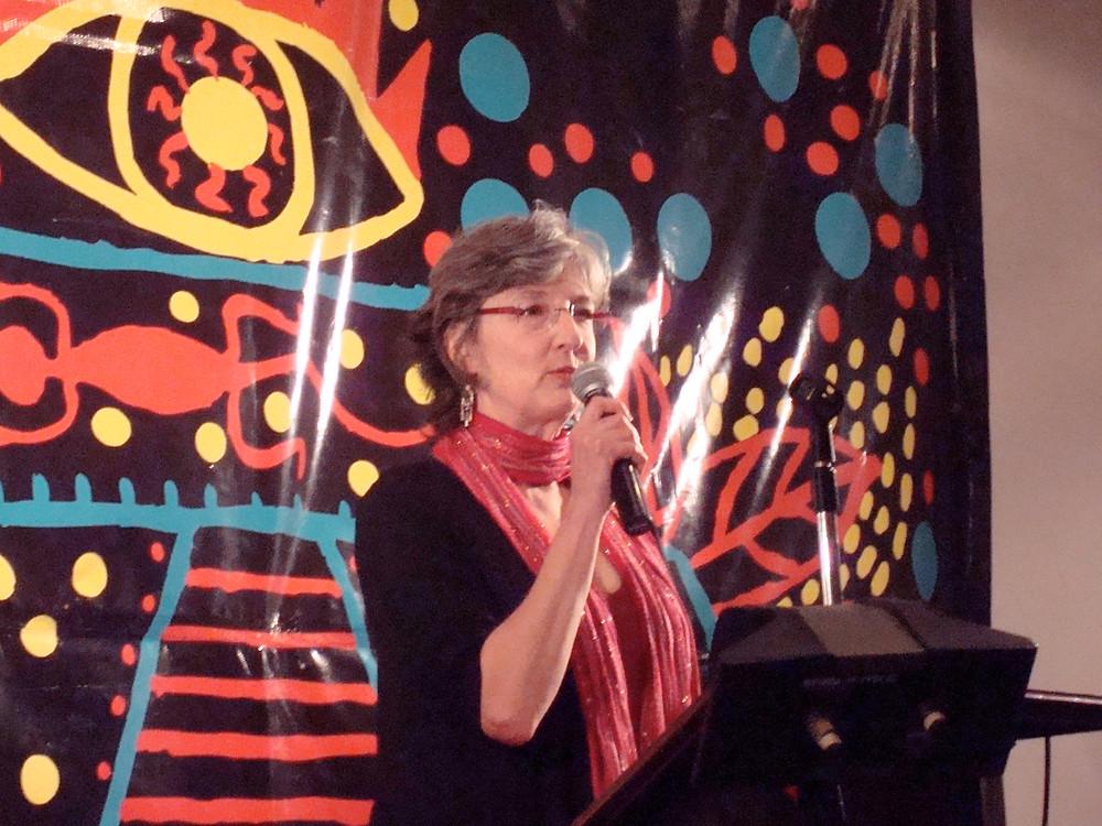 Barbara Kingsolver at San Miguel 2010