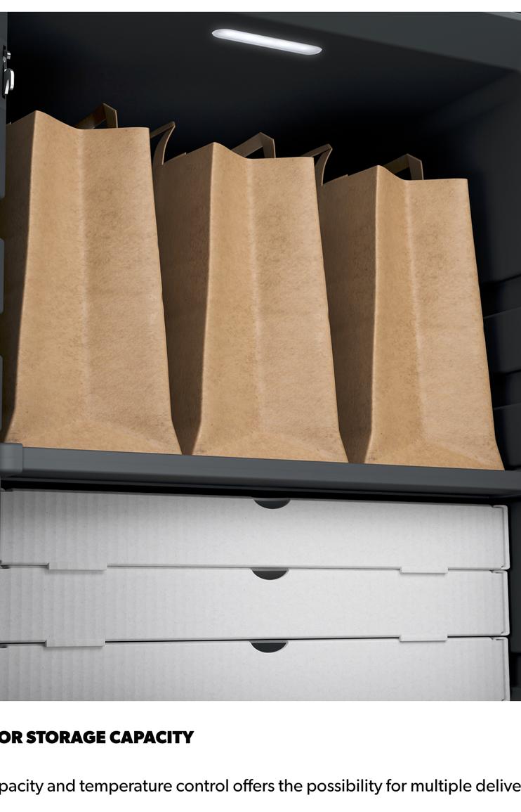 Dometic Delibox Storage Capacity