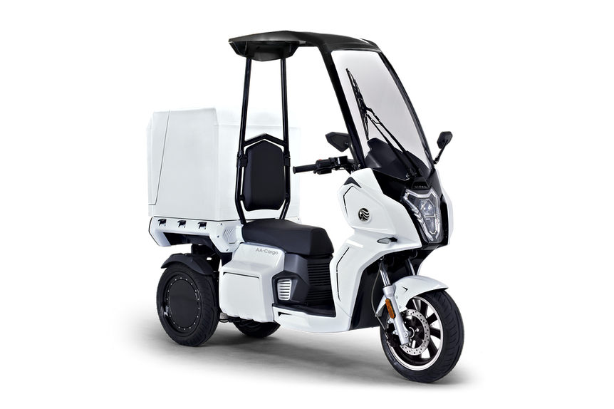"""""""aidea AA-cargo"""" Electric 3-wheel Delivery Vehicle"""