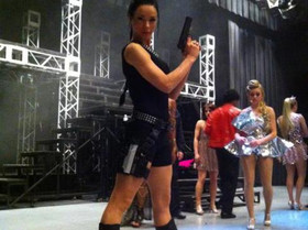 """Laura Croft"" for Hinton Battle's Variety Broadway Show Japan 2015"