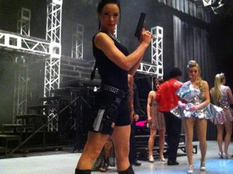 """""""Laura Croft"""" for Hinton Battle's Variety Broadway Show Japan 2015"""
