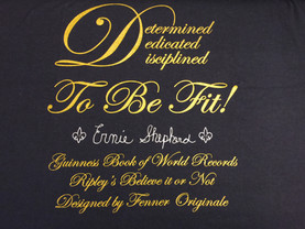 Determined Dedicated Disciplined Tee