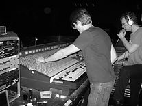 Danny mixing at the Roxy