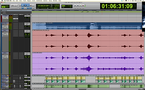 ProTools Editing Shot 01
