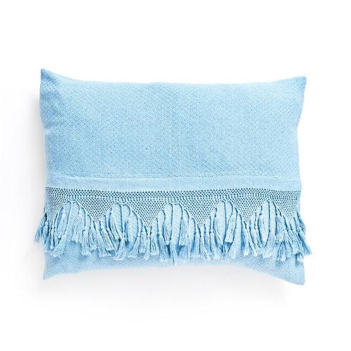 sky tassel pillow