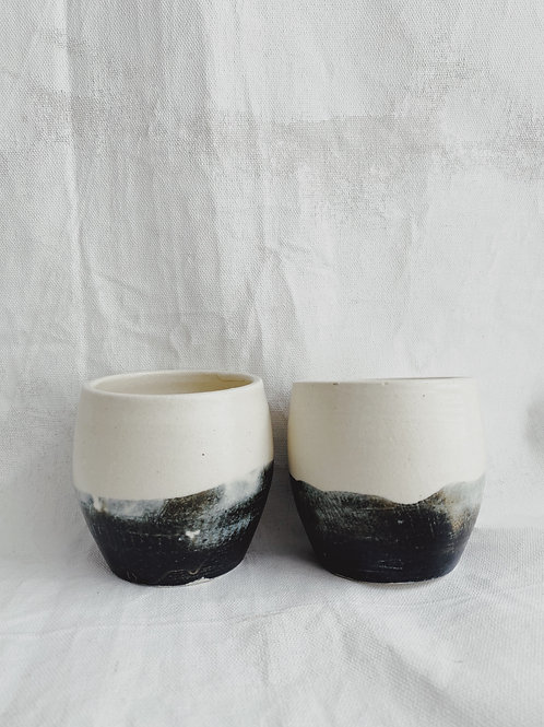 set of 2- eclipse-rounded cup
