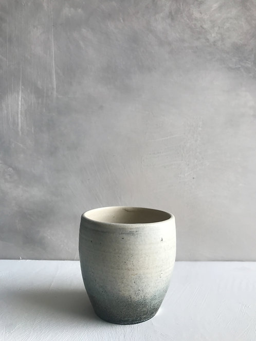 smoke-rounded cup