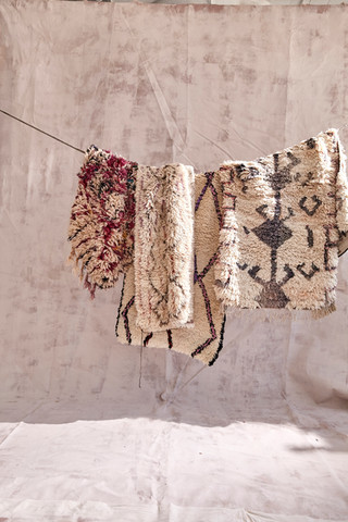 found carpets from Morocco-photgraphed by Gentl&Hyers